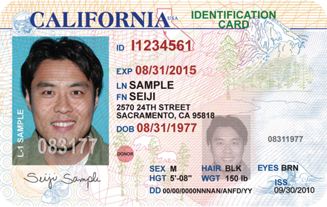 how to get a ca drivers license over 18